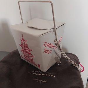 Rare Kate Spade Chinese takeout bag